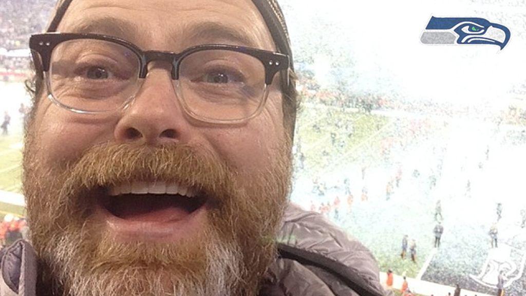 Rainn Wilson, otro chico de la Oficina en la grada – Seahawks