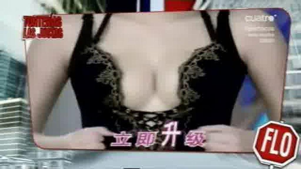 El anuncio de sujetadores japonés