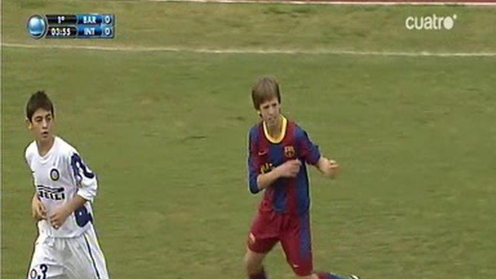 Fútbol 7: Barcelona 0 - 1 Inter