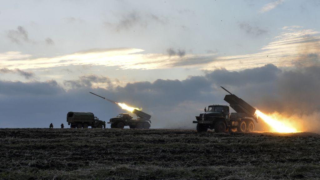 Misiles del ejército de Kiev contra tropas prorrusas