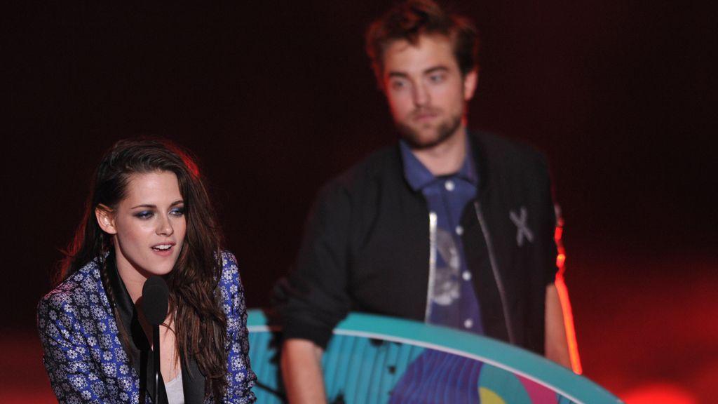 Kristen Stewart y Robert Pattinson,gala