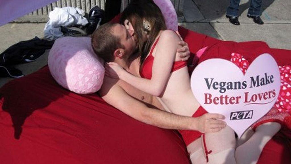 Vegetarianos y el sexo