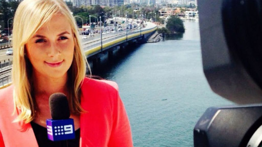Hayley Webb, periodista australiana