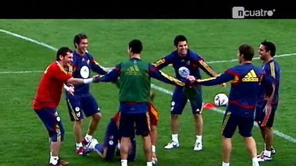 La Selección Española, ilusionada