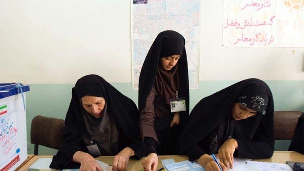 Irán vota