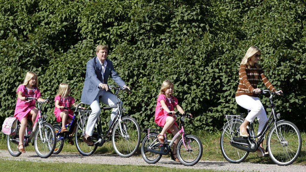 La Familia Real Holandesa, día campestre
