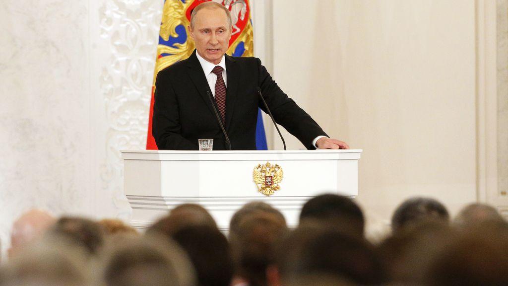 Putin comparece ante las Cámaras