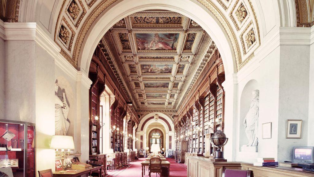 Bibliothèque du Sénat, París