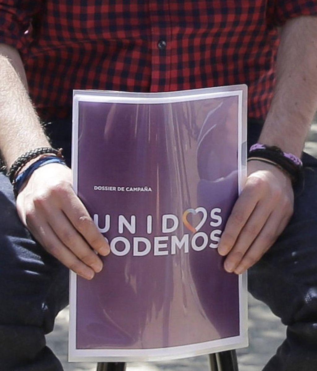 La campaña de Unidos Podemos, con el lema 'La sonrisa de un país'