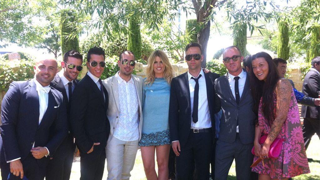 Pamelas y calesas, es la boda de Ezequiel Garay y Tamara Gorro