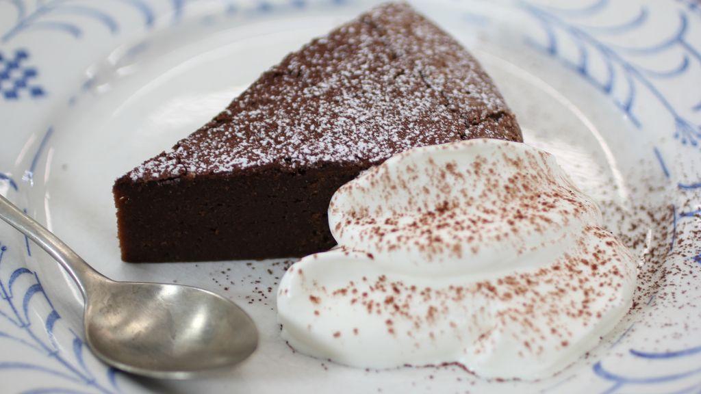 Tarta de chocolate 'Alain Chapel'