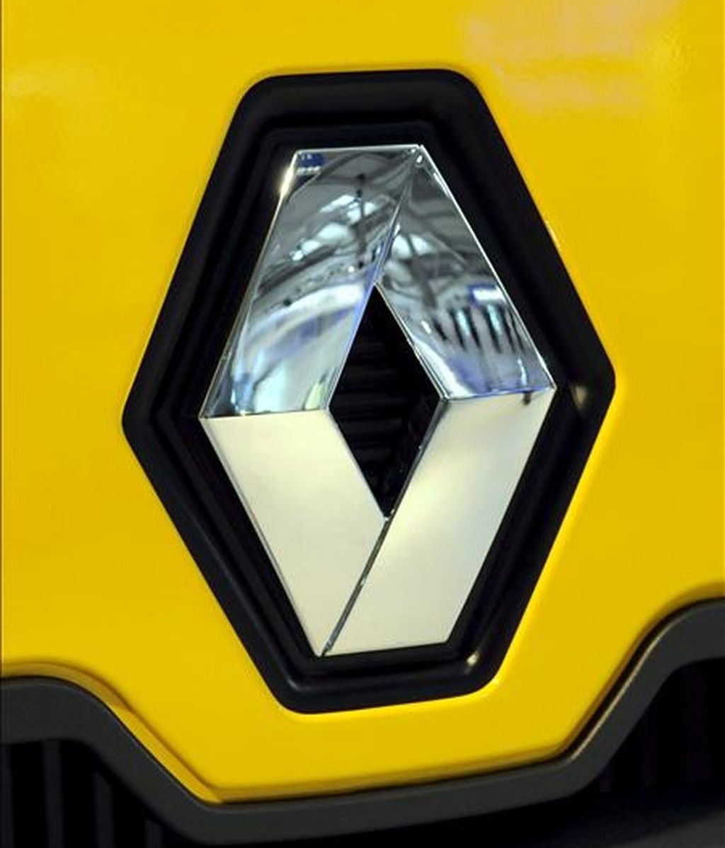 Logotipo de Renault. EFE/Archivo