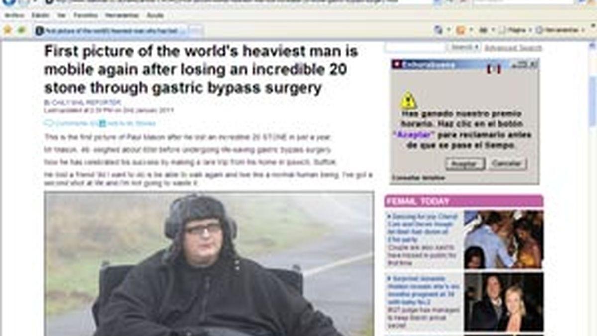 Paul Mason y su nueva vida en silla de ruedas. FOTO: DailyMail