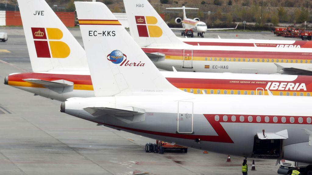 La mayor huelga de la historia de la aerolínea española Iberia