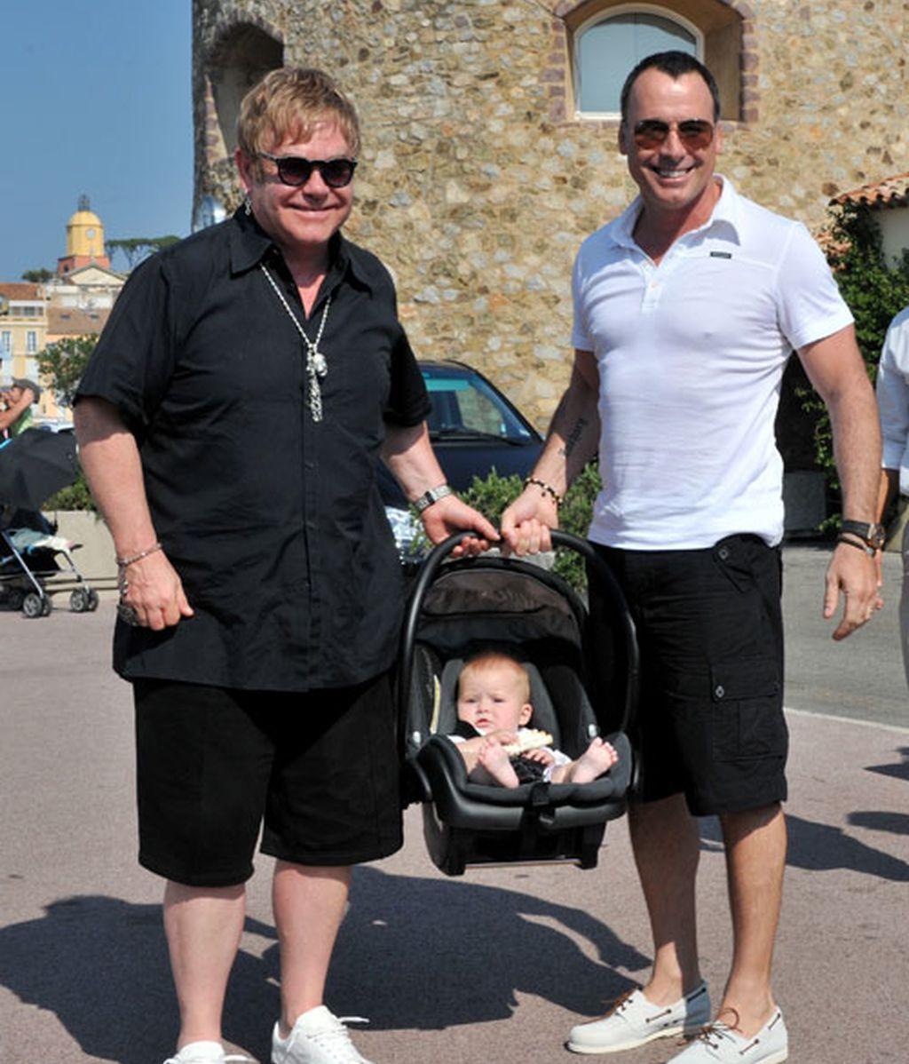 La familia John-Furnish de vacaciones