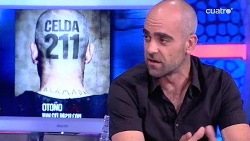 """Luis Tosar nos habla de su nueva peli """"Celda 211"""""""