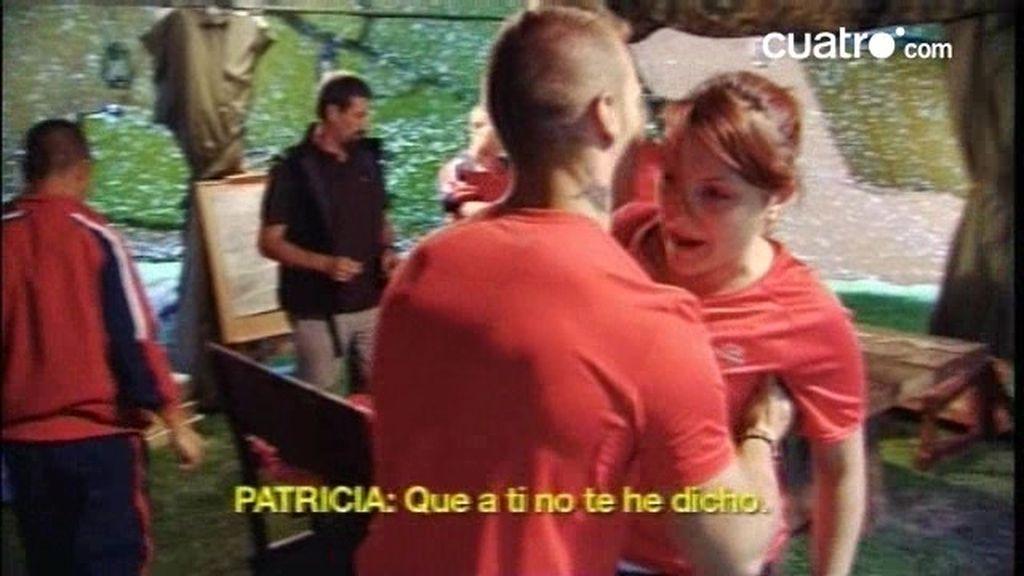 AVANCE. Alta tensión entre Patricia, Moraima, José Luis y Bernardo