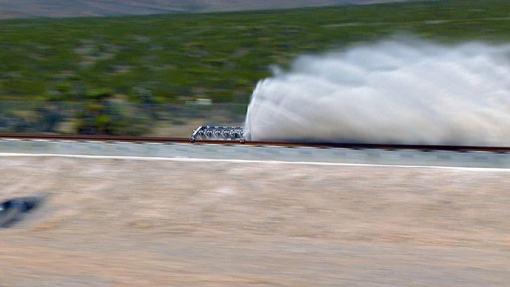El Hyperloop One ya corre a la velocidad del rayo
