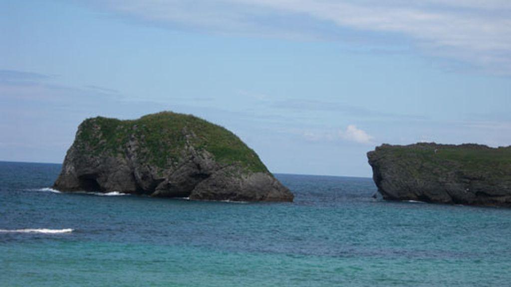 Playa de Barro, en Llanes