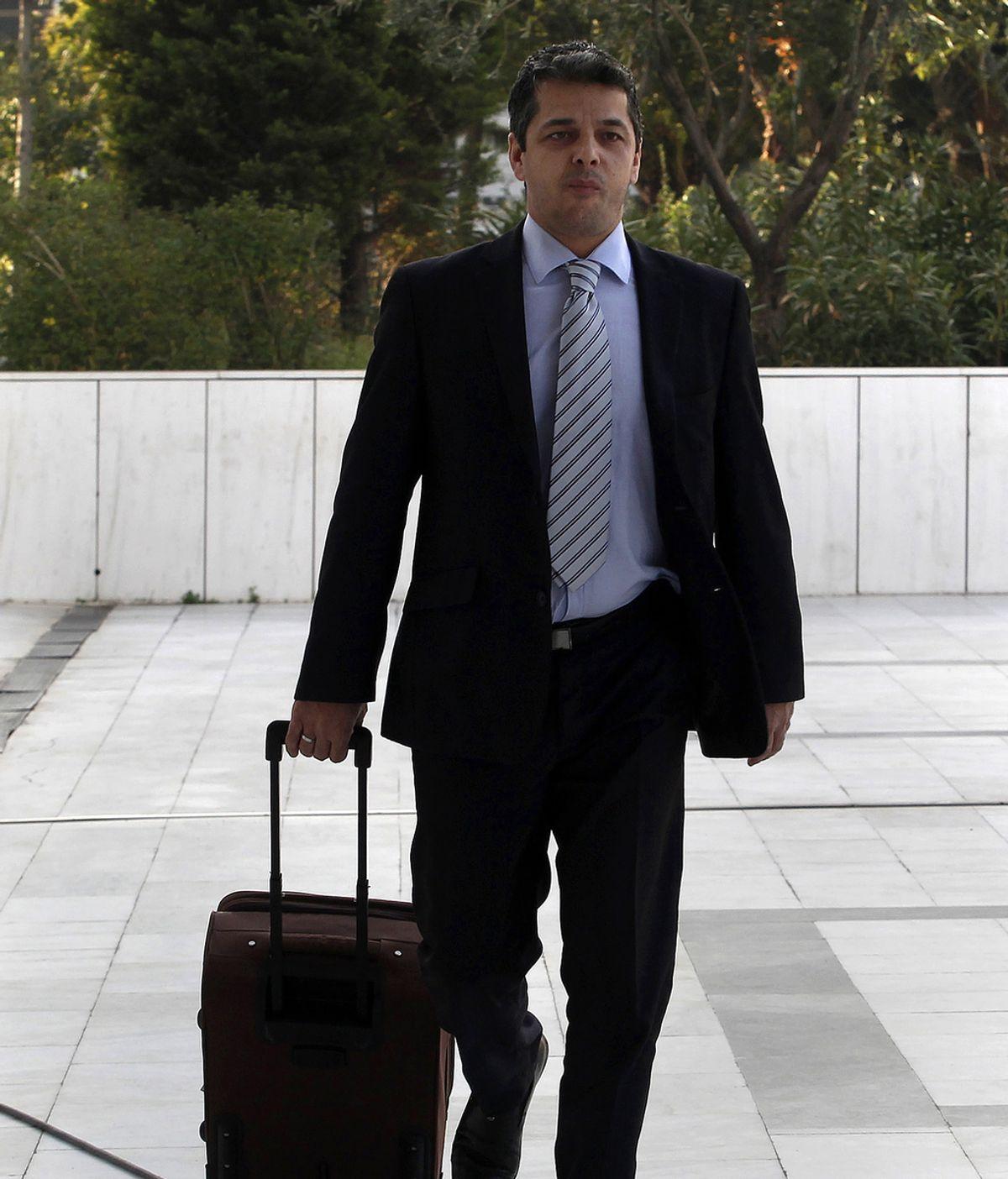 Stathis Boukouras, parlamentario de Amanecer Dorado