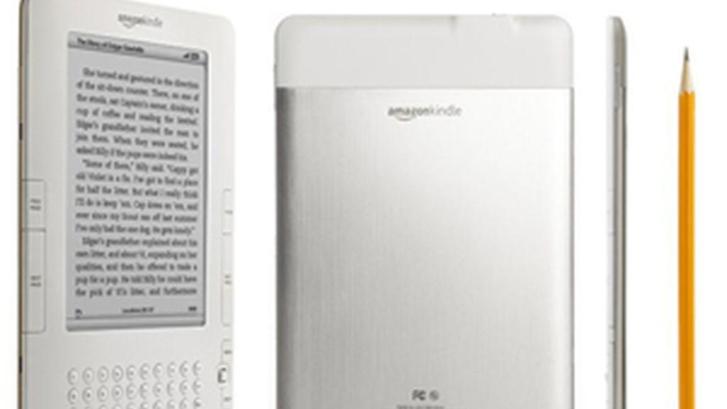 Amazon mejora su e-book Kindle.