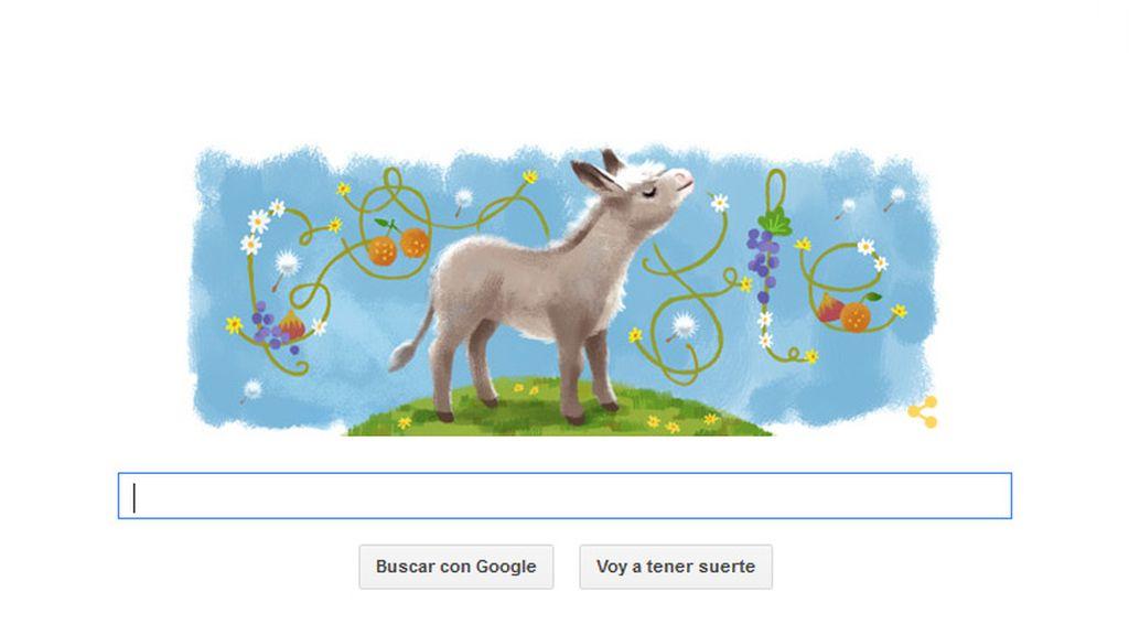 'Platero y yo' celebra su centenario con Google