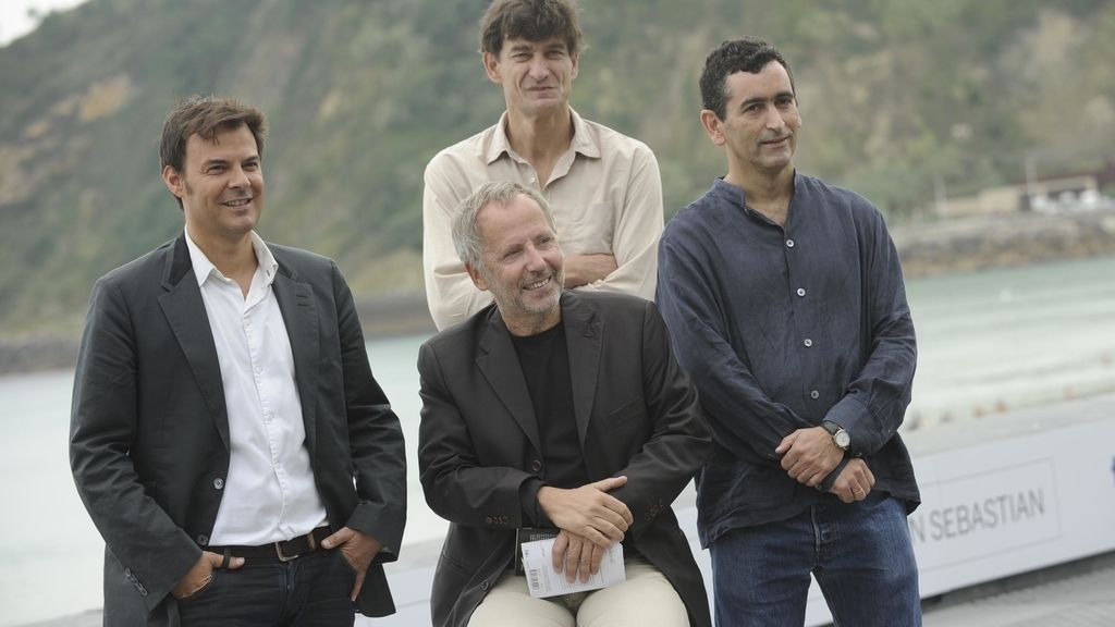 El equipo de la película francesa 'Dans la maison'