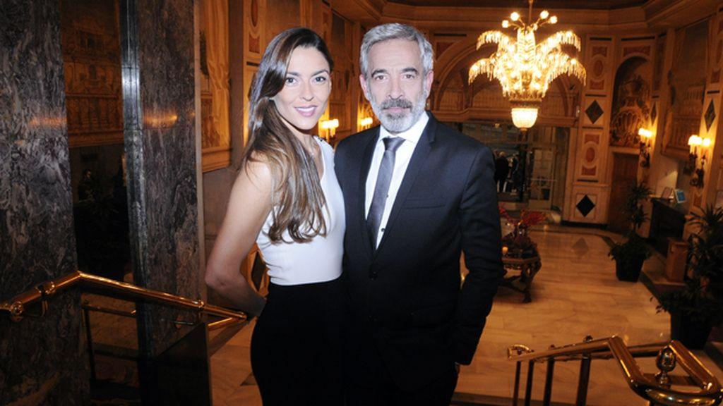 Imanol Arias junto a Irene Meritxell