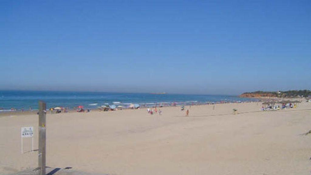 Playa de La Barrosa, en Chiclana