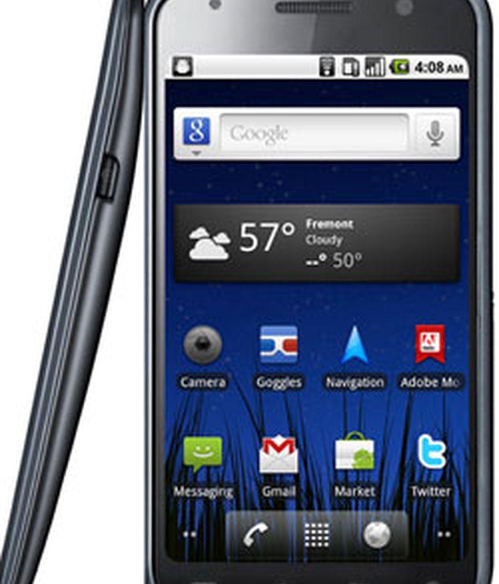 """Google ha señalado que Nexus S es el primer 'smartphone' en  incorporar un contorno de pantalla de 4""""."""