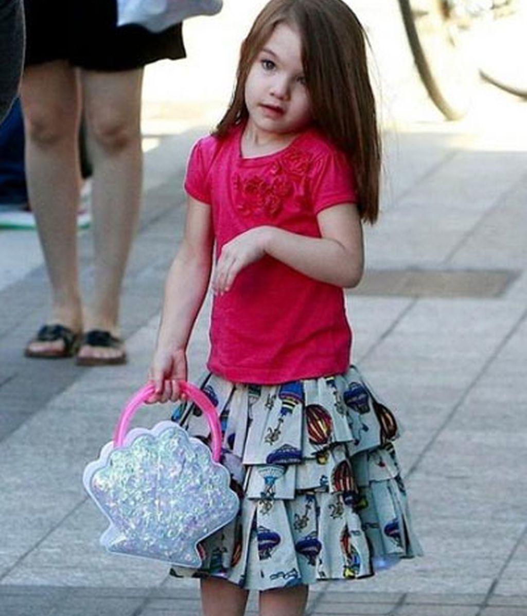 Suri Cruise, icono de la moda infantil