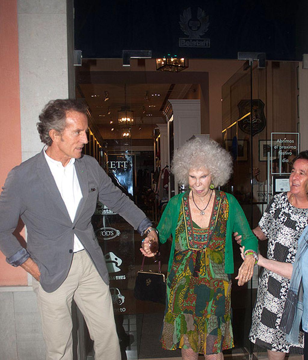 La Duquesa viste a Alfonso Díez
