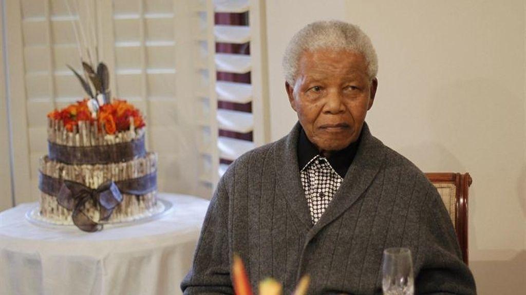 Mandela recibe el alta médica