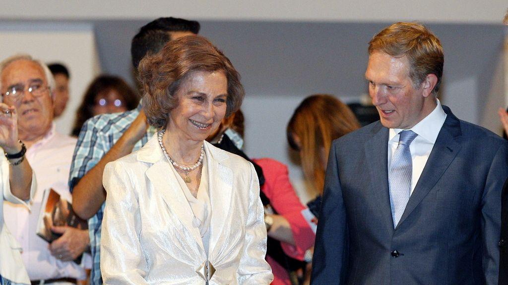 La reina Sofía, abucheada en el Auditorio Nacional de Madrid. Foto: Efe