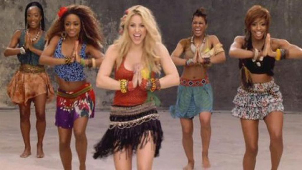 Año 2010, 'Waka waka' de Shakira