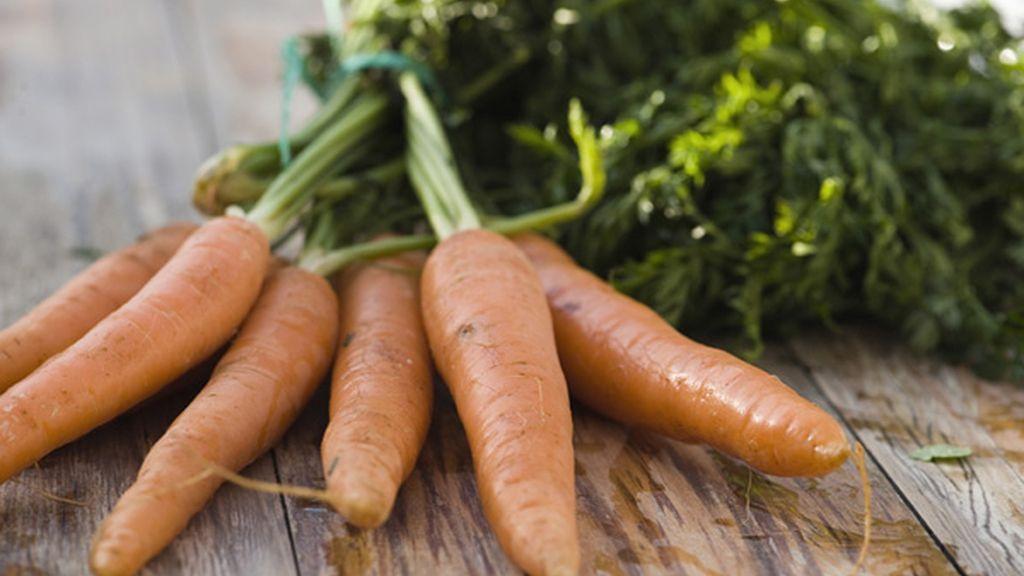 Vegetales como la zanahoria, los esparragos o el brécol