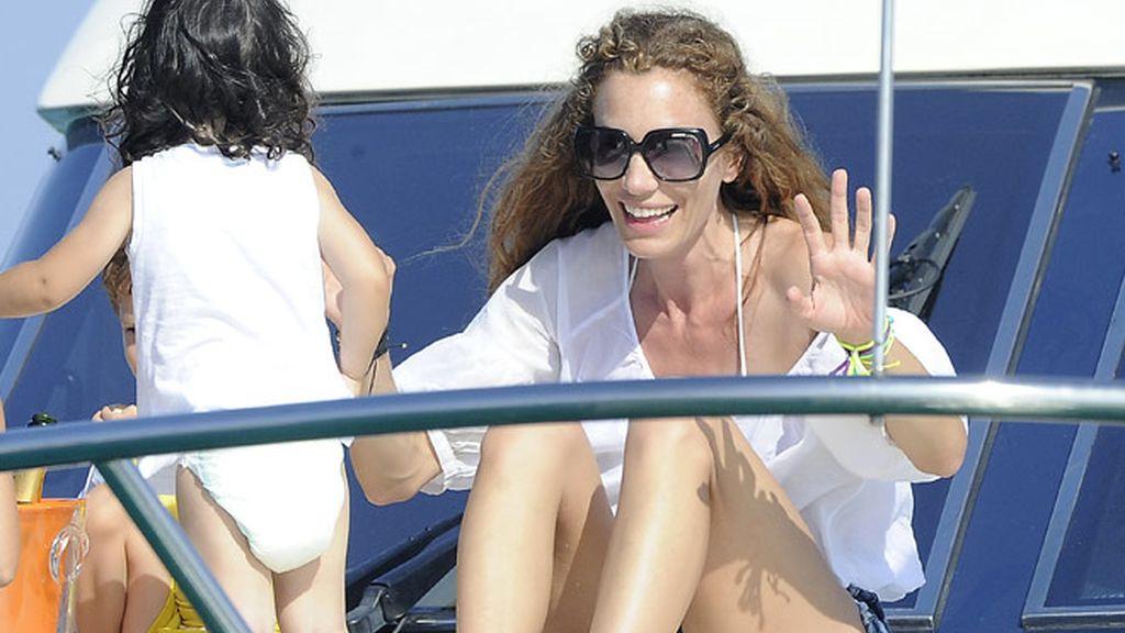 Borja Thyssen y Blanca Cuesta en Ibiza