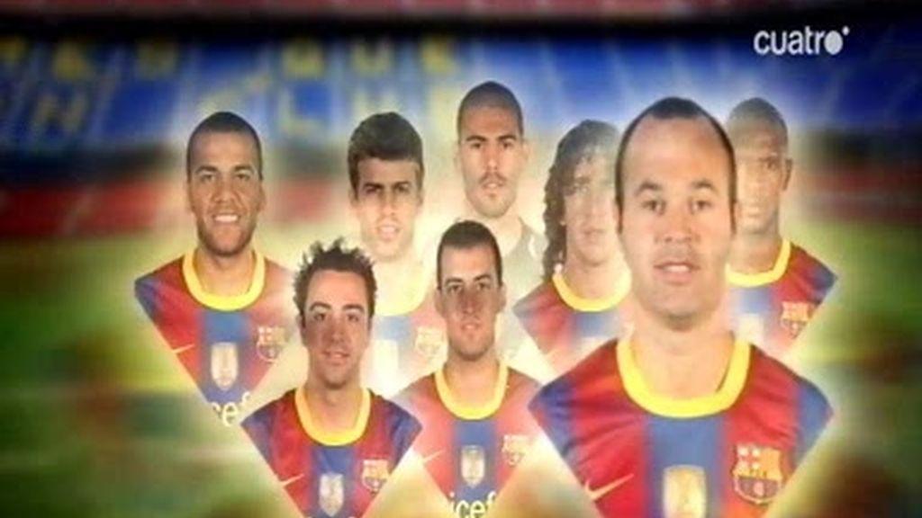 Con el 11 de gala... éste sí es el Barça