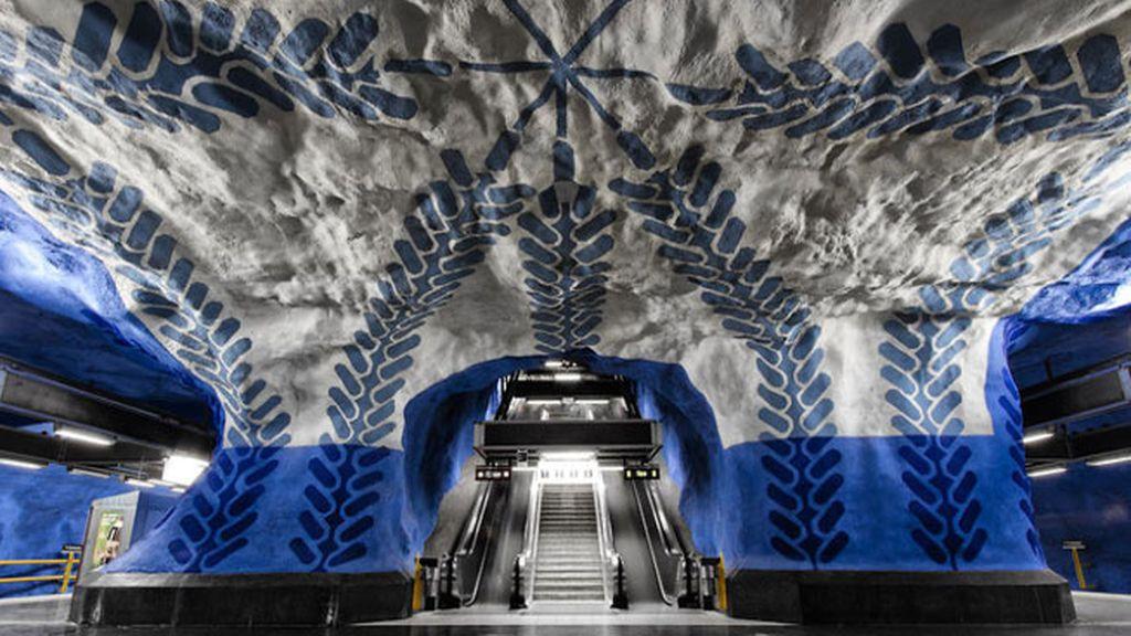 Estación T-Centralen, Estocolmo, Suecia