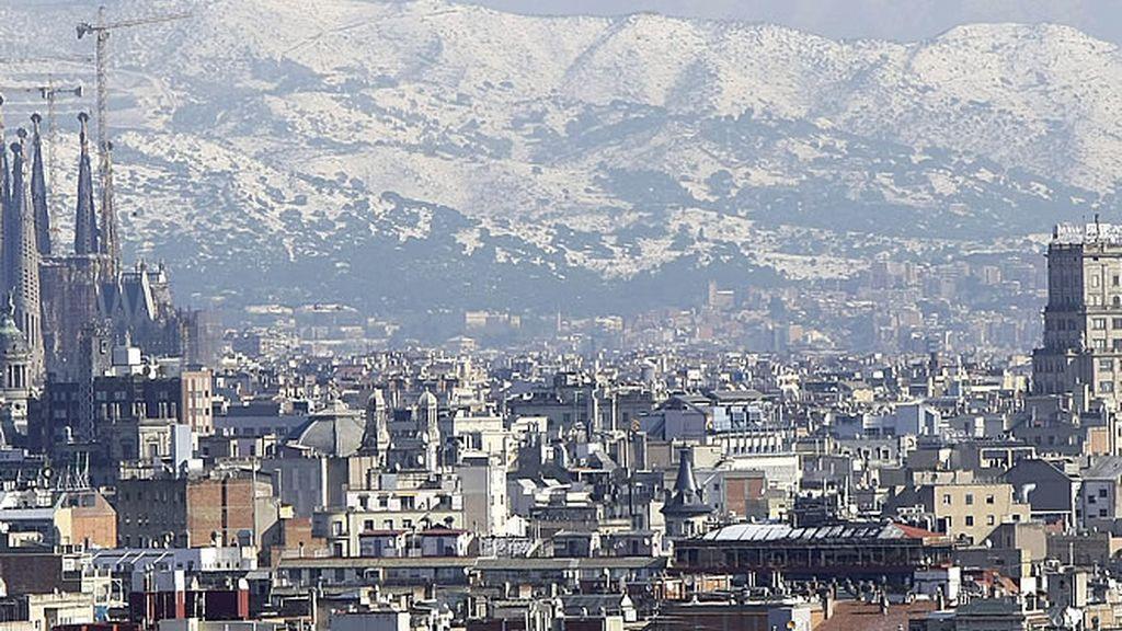 Skyline de la ciudad de Barcelona