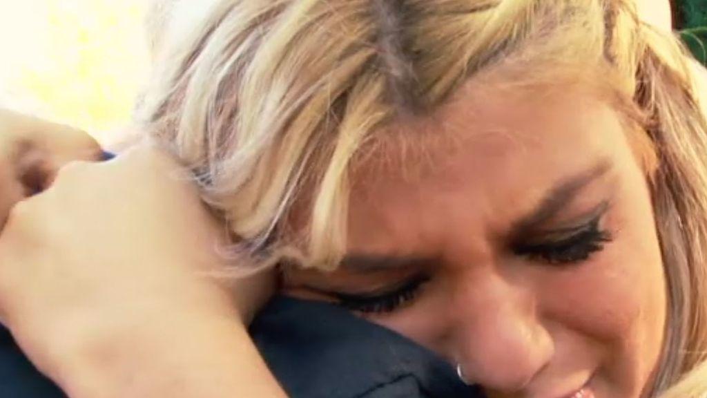 Verónica se reconcilia con su padre