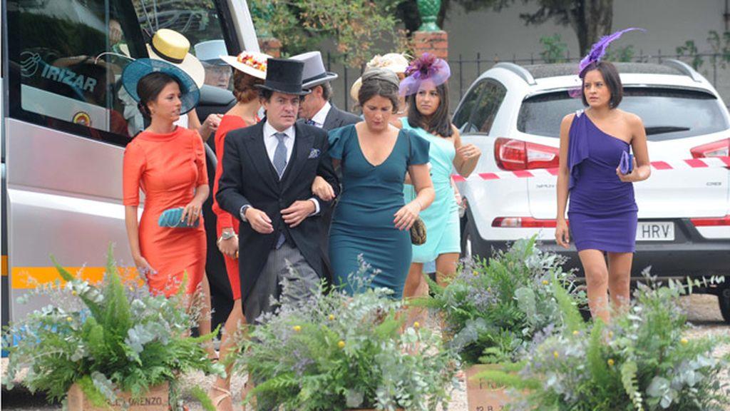 Invitados a la boda de Fran y Lourdes