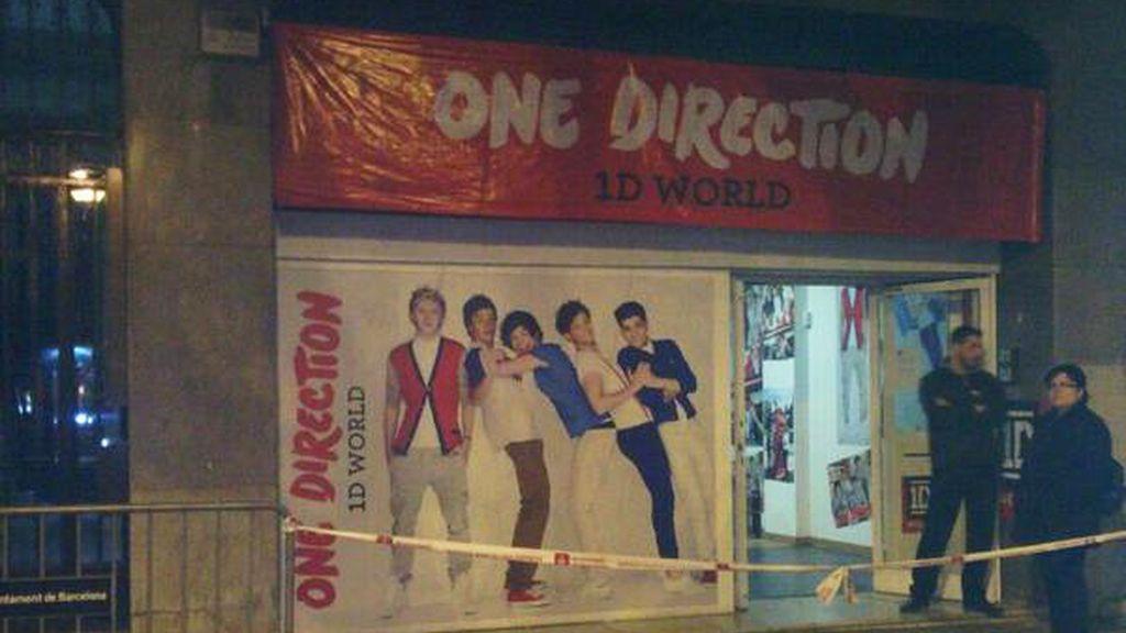 La primera tienda española de One Direction, solo hasta el 6 de abrirl