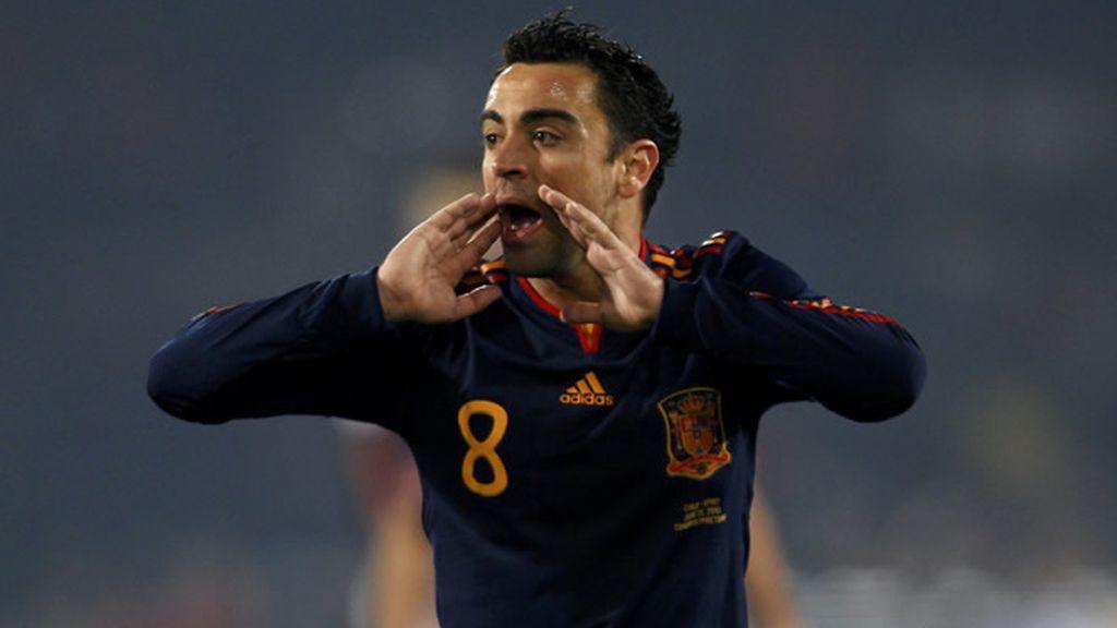 A Xavi Hernández le gusta que no juegue Müller