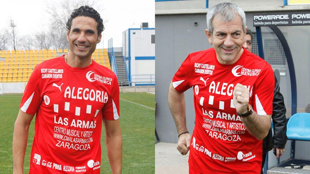 Óscar Higares y Carlos Sobera