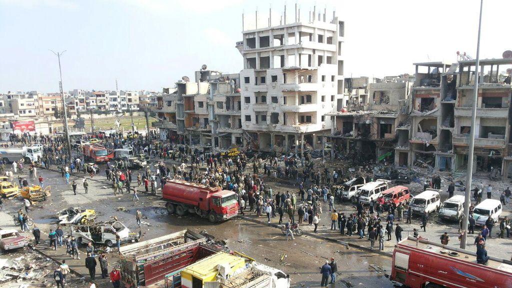 Atentado en Homs 21/02/2016