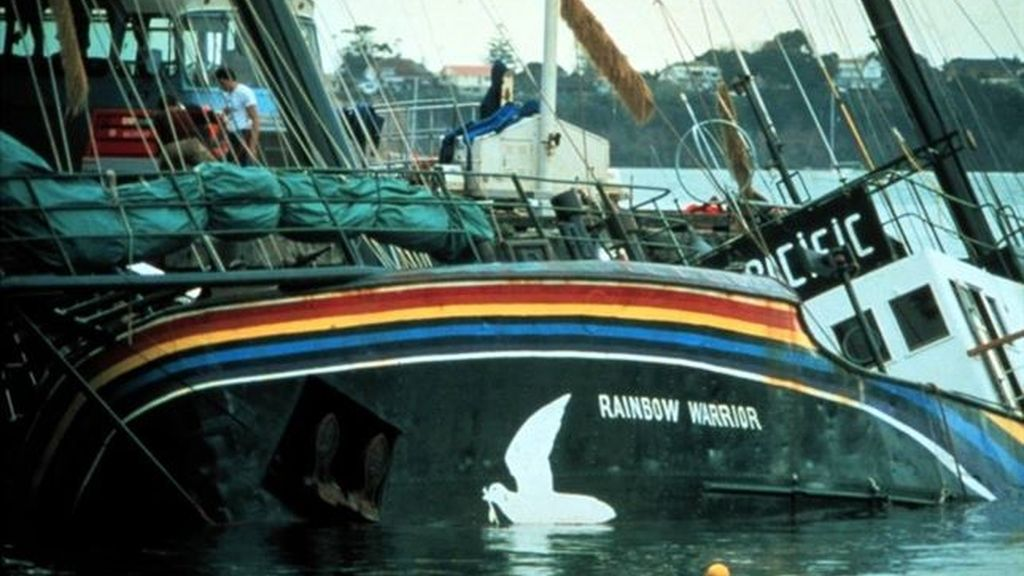 Buque de la organización ecologista Greenpeace, 'Rainbow Warrior'