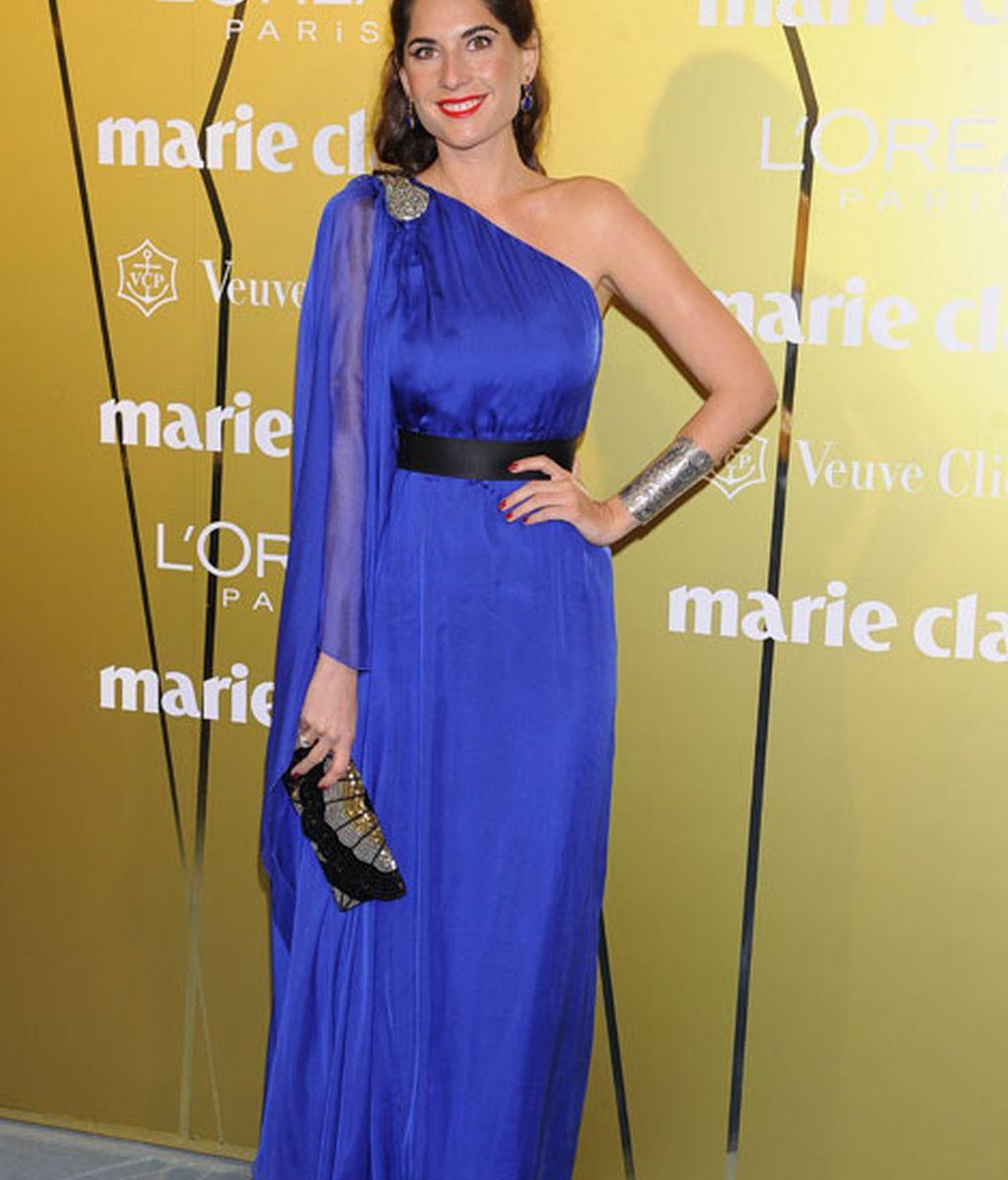 Lourdes Montes eligió un elegante vestido de Carolina Herrera NY