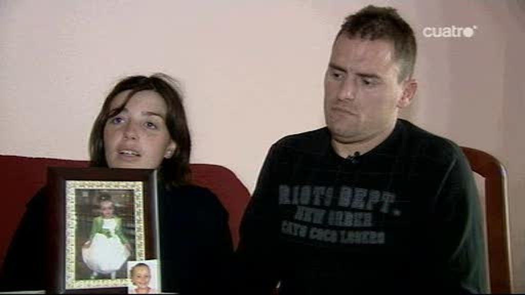 Entrevista a los padres de la niña muerta en una atracción