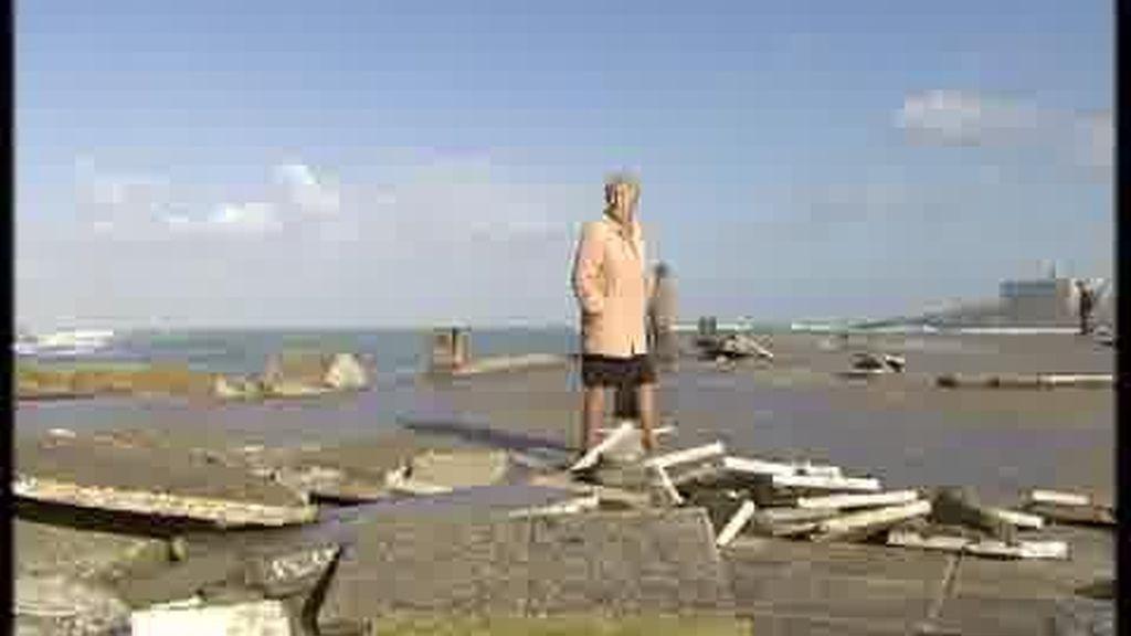El temporal causa grandes destrozos en Galicia